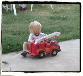 Firetruck inspection!