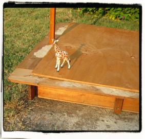 Discard: lonely giraffe