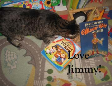 Jimmy Zangow and his moon pies! Yeah!
