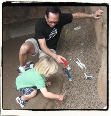 Excavating!